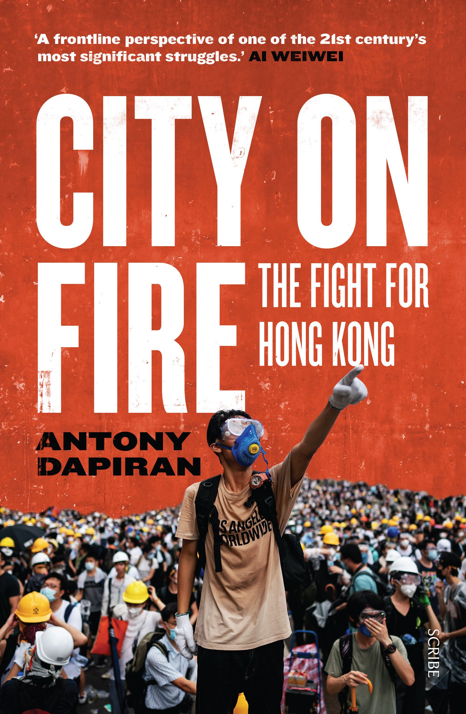 "Book cover of ""City on Fire: The Fight for Hong Kong"""