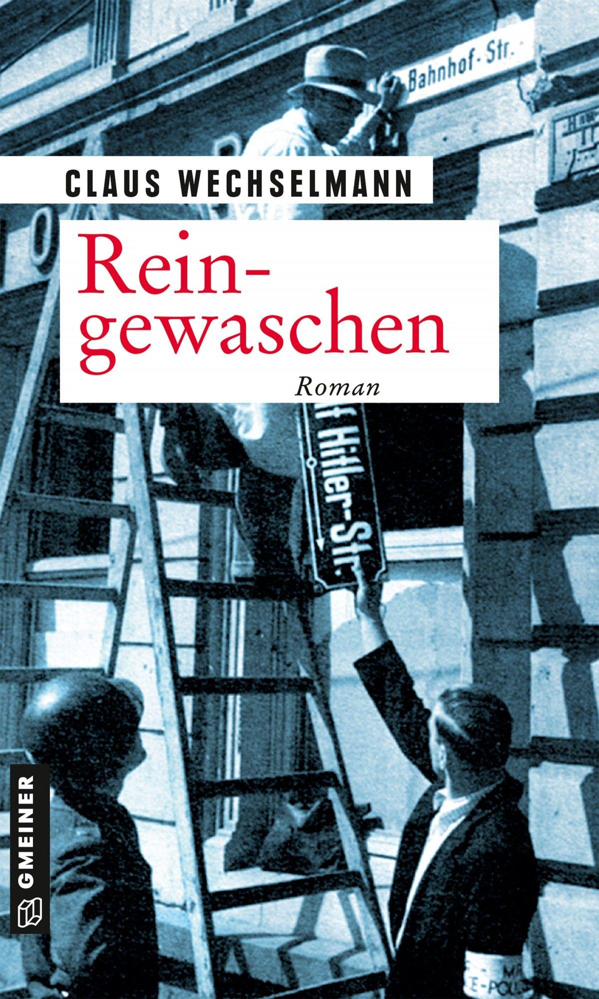"Cover of ""Reingewaschen"", Claus' debut novel"
