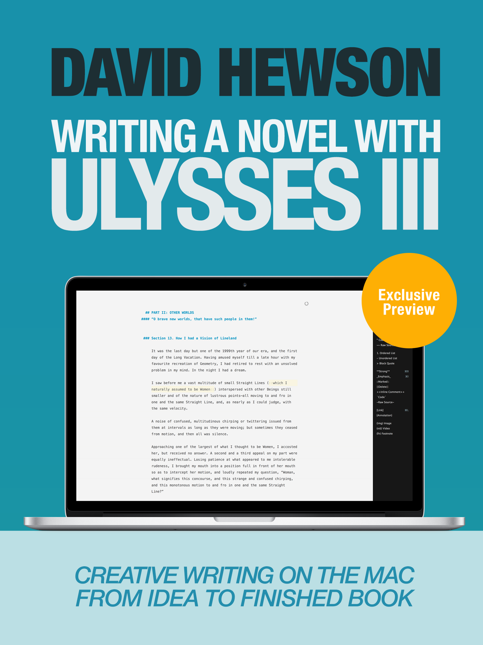 ting a Novel With Ulysses III Sample Cover