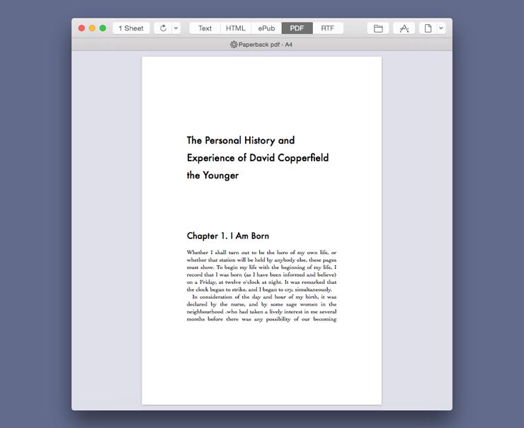 Style Paperback PDF