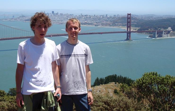Max in San Francisco, 2007