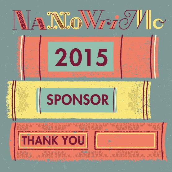 We sponsor NaNoWriMo 2015