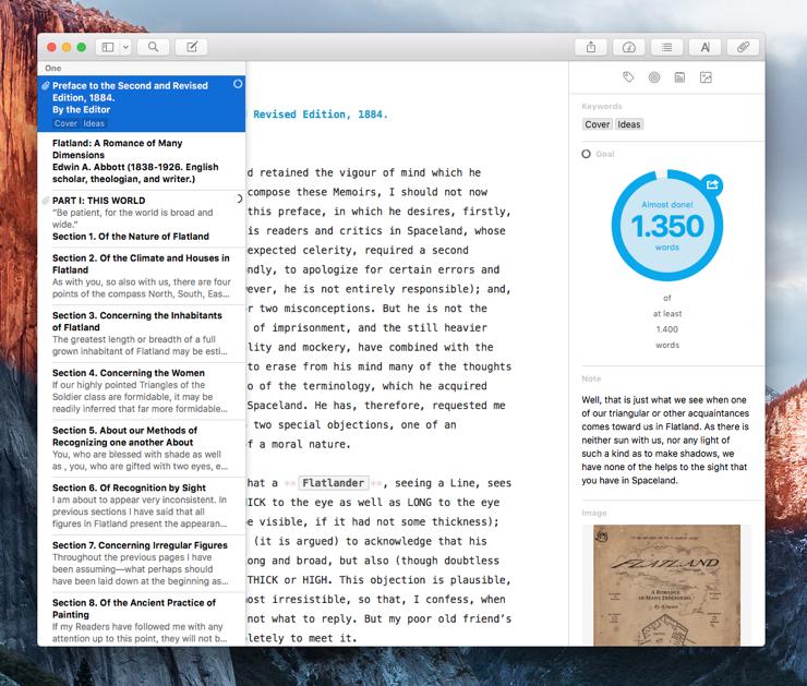 The Sheet List as an Overlay