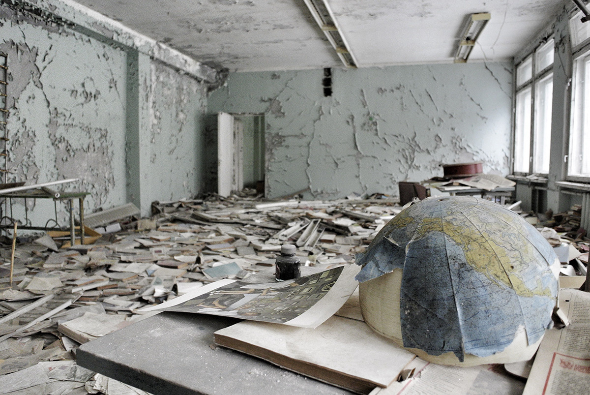 Chernobyl, 30 years after. All photos courtesy of Peter Zarko-Flynn.