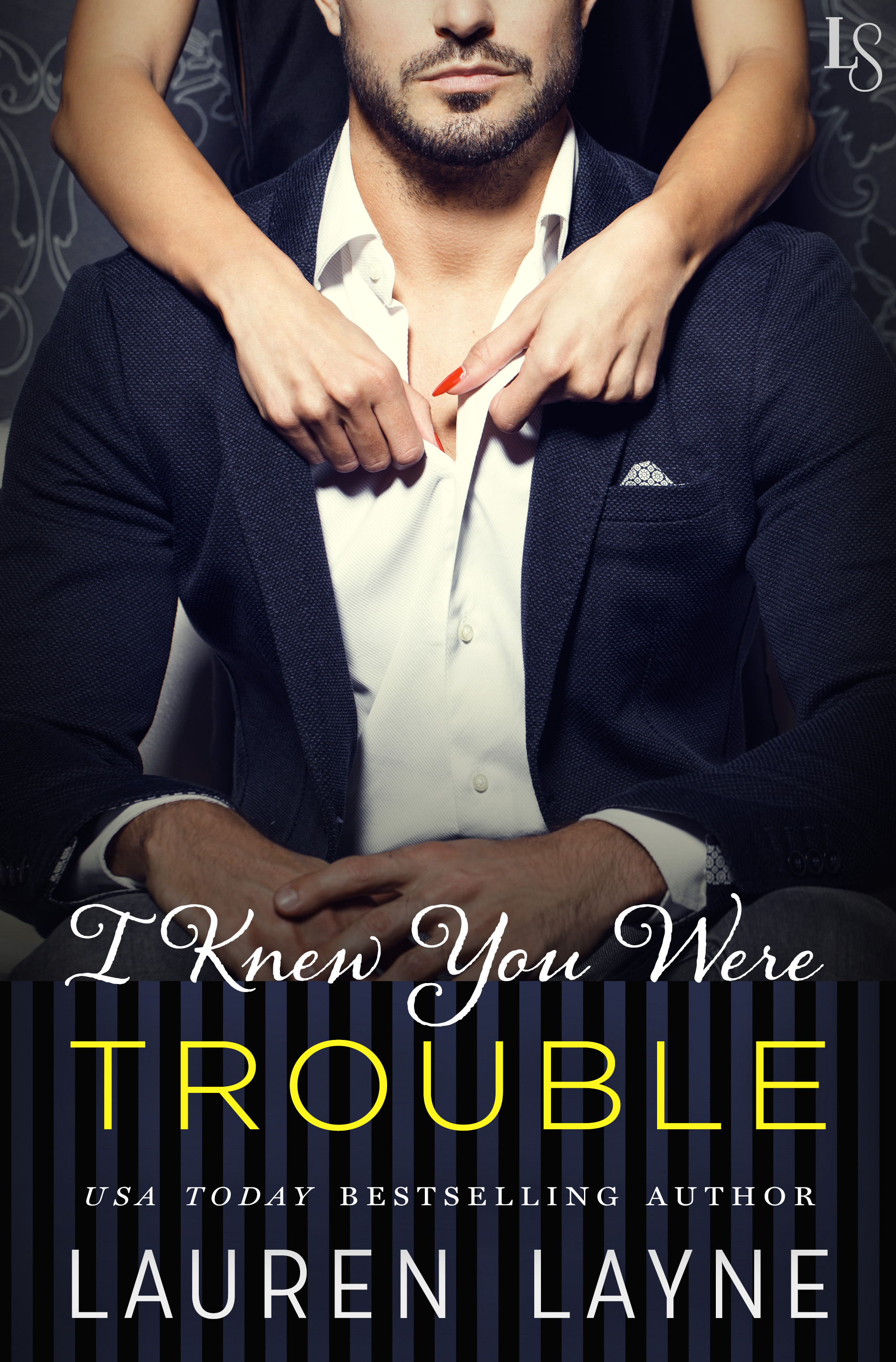 "Book cover ""I Knew You Were Trouble"""