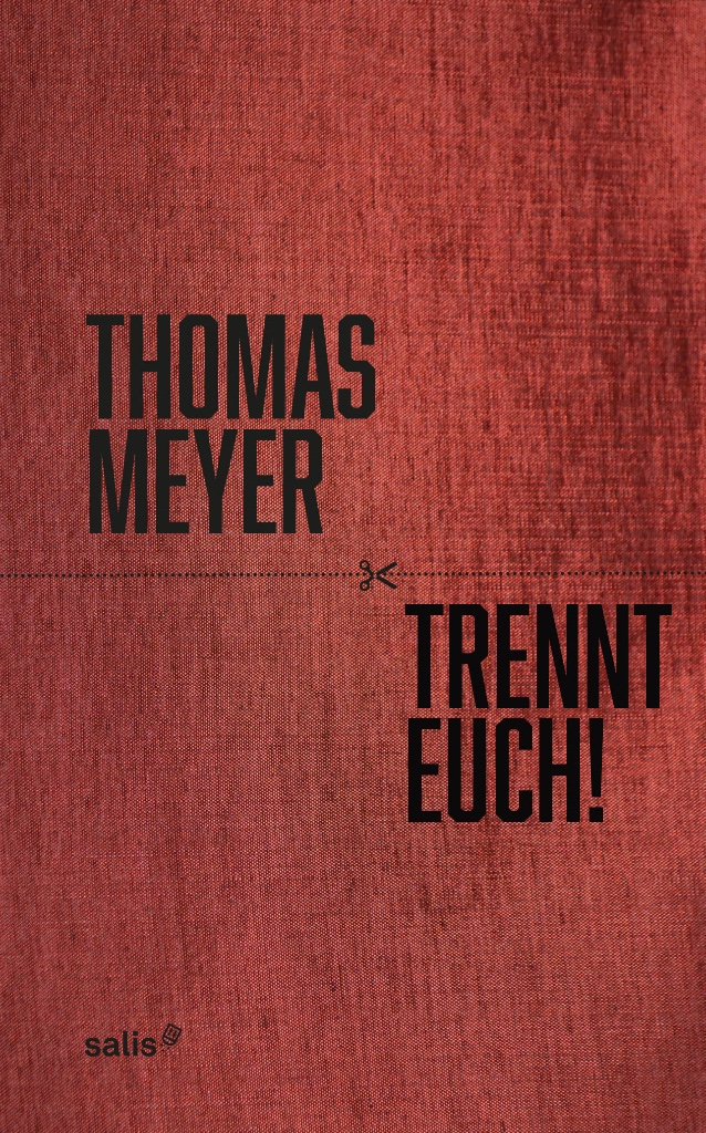The cover of Thomas Meyer's new book.