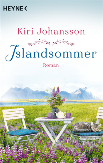 "Cover of the novel ""Islandsommer"", which will be published under the pen name Kiri Johannson"