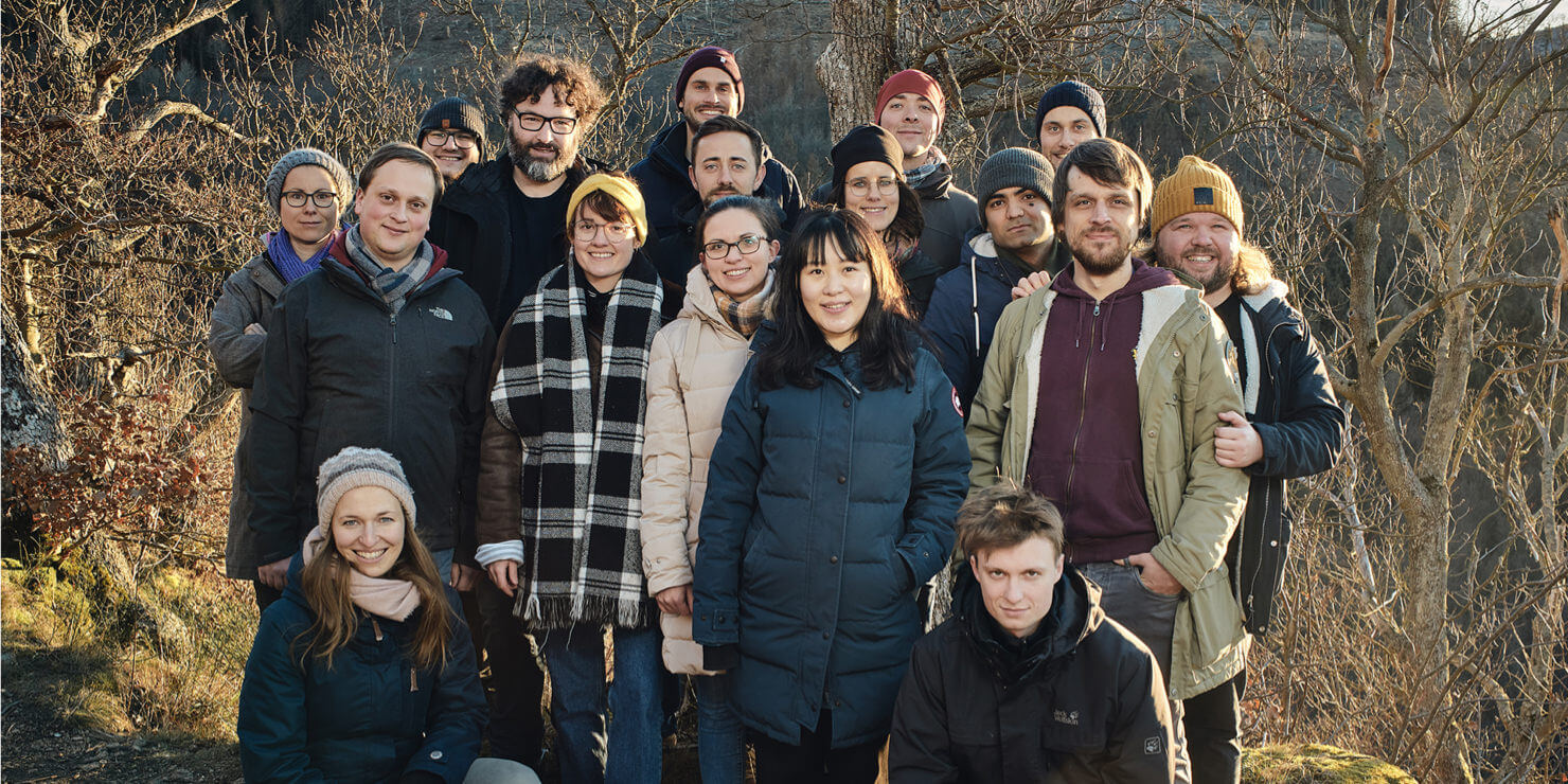 The Ulysses team in Januar 2019, at the company retreat in the Harz mountains